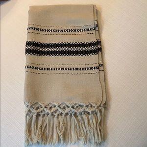 Vintage Sherpa Blanket Wool Handmade.